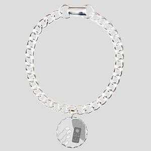 No Moleste - no text Charm Bracelet, One Charm