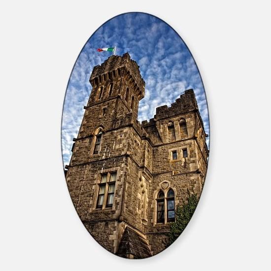 Ashford Castle Sticker (Oval)