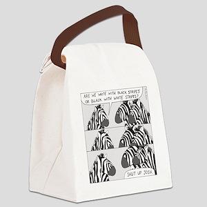 Shut Up Josh Canvas Lunch Bag