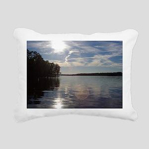 lakeNC1 Rectangular Canvas Pillow