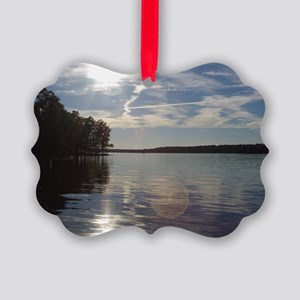 lakeNC1 Picture Ornament