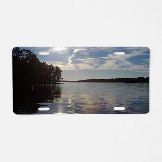 lakeNC1 Aluminum License Plate