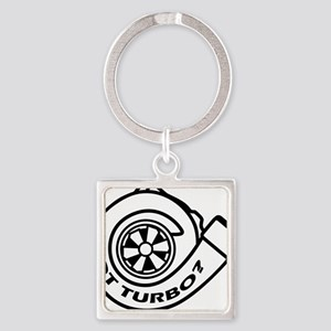 GotTurbo Square Keychain