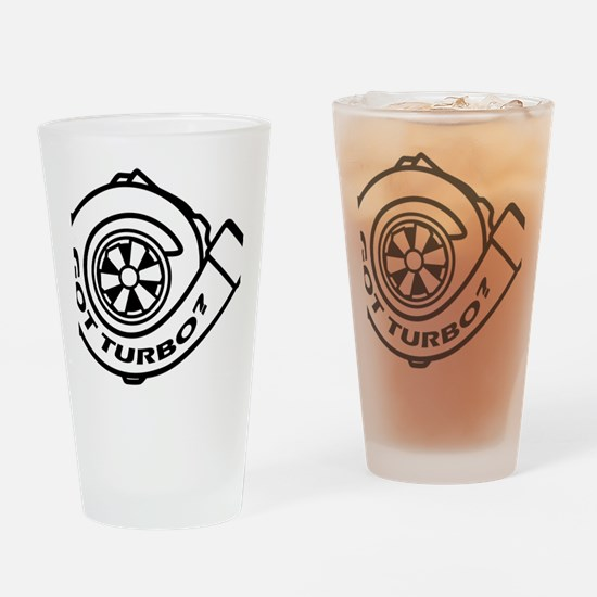 GotTurbo Drinking Glass