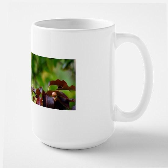 Gold finch-1 #146-1 10-23-09 for mug Large Mug