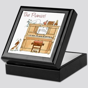 The  Pianist Keepsake Box