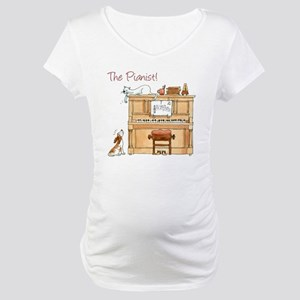 The  Pianist Maternity T-Shirt
