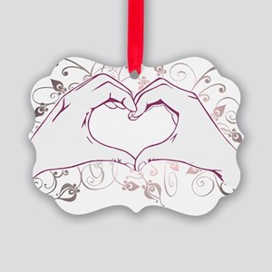 Hearthand Picture Ornament