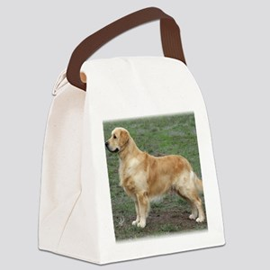 Golden Retriever 9Y186D-072 Canvas Lunch Bag