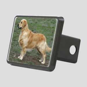 Golden Retriever 9Y186D-07 Rectangular Hitch Cover