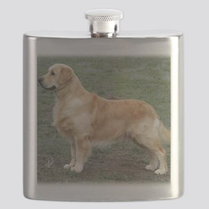 Golden Retriever 9Y186D-072 Flask