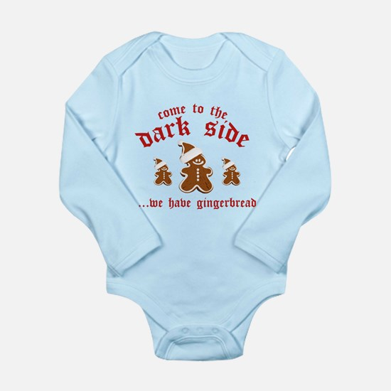 Come To The Dark Side Long Sleeve Infant Bodysuit