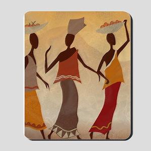 African Women Mousepad