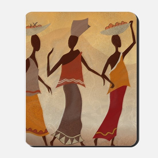 African Women Mousepad