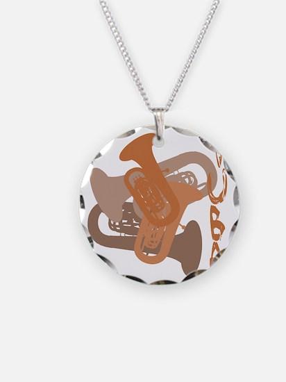 Graphic Tuba Necklace