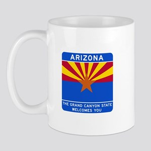 Welcome to Arizona - USA Mug