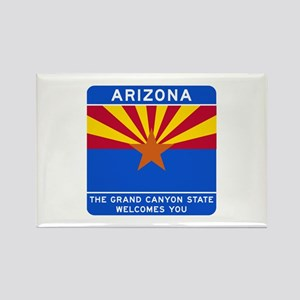 Welcome to Arizona - USA Rectangle Magnet