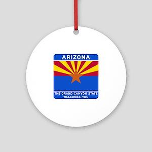 Welcome to Arizona - USA Ornament (Round)