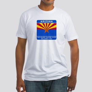 Welcome to Arizona - USA Fitted T-Shirt