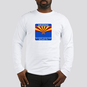 Welcome to Arizona - USA Long Sleeve T-Shirt