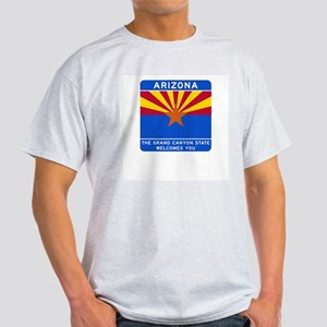 Welcome to Arizona - USA Ash Grey T-Shirt