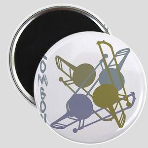 Graphic Trombone Magnet