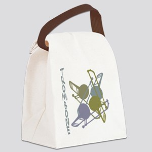 Graphic Trombone Canvas Lunch Bag