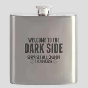 Welcome To The Dark Side Flask