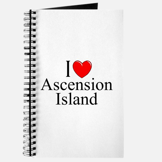 """I Love Ascension Island"" Journal"