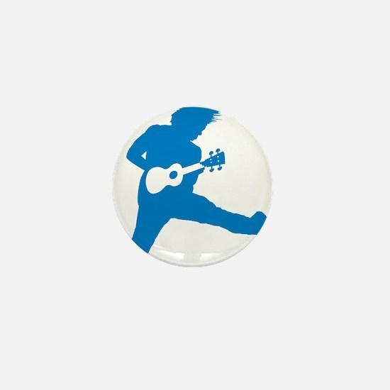 iUke Blue Mini Button