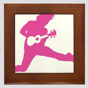 iUke Pink Framed Tile