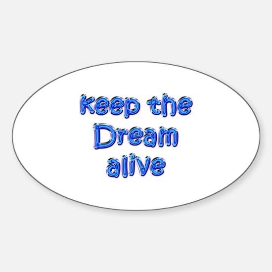 MLK's Dream Oval Decal