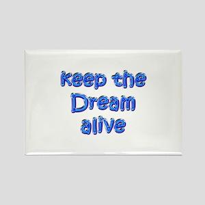 MLK's Dream Rectangle Magnet