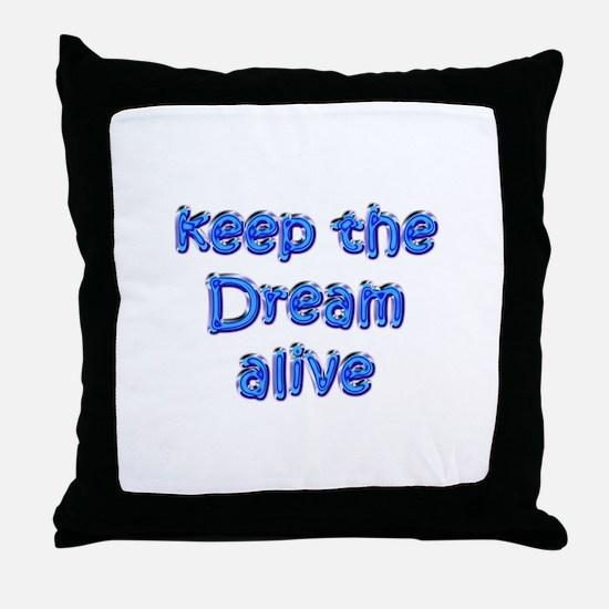 MLK's Dream Throw Pillow