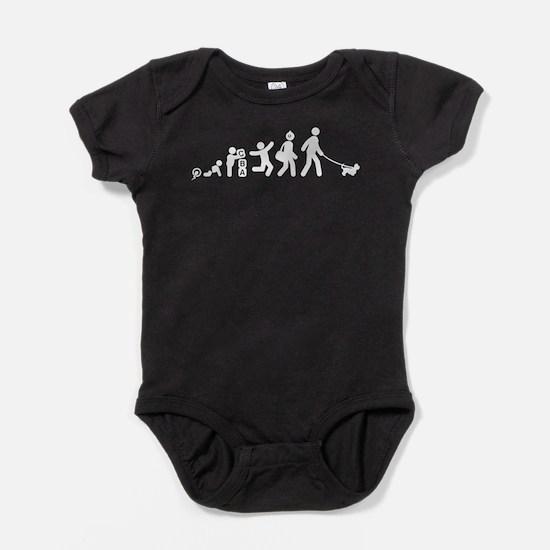 Dandie Dinmont Terrier Baby Bodysuit