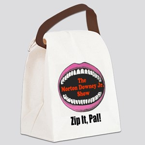 zipitloudmouth Canvas Lunch Bag