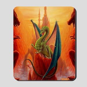 Dragon and Sentinels Mousepad