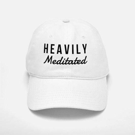 Heavily Meditated Baseball Baseball Cap