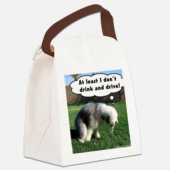 cassie poop [final] Canvas Lunch Bag