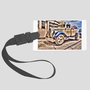 Tow Truck Large Luggage Tag