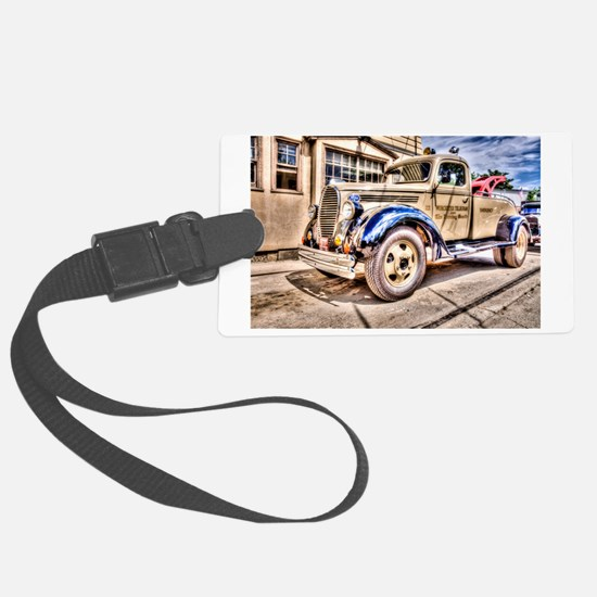 Tow Truck Luggage Tag