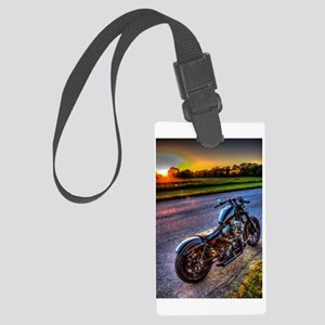 Basking in the Sunset Large Luggage Tag