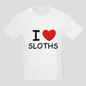 I love sloths Kids T-Shirt