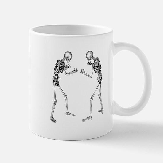 Fighting Skeletons Mugs