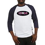 URNA Logo Blue/White Baseball Jersey