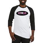 URNA Logo Black/White Baseball Jersey