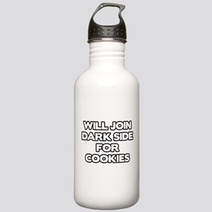 Will Join Dark Side For Cookies Stainless Water Bo