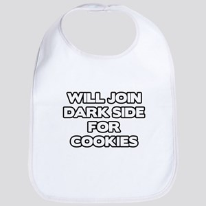 Will Join Dark Side For Cookies Bib