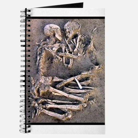 Necromance Skeleton Romance Goth Dark Art Journal