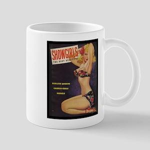 Showgirls Retro Pin Up Burlesque Dancer Mugs